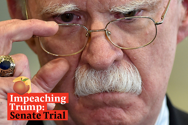 Watch Live: John Bolton Wrote In His Memoir That Trump Did The Very Thing He's Been Impeached For. The Trial Resumes Today.