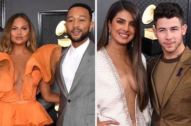 Here Are All The Cutest Celebs On The Grammys Red Carpet