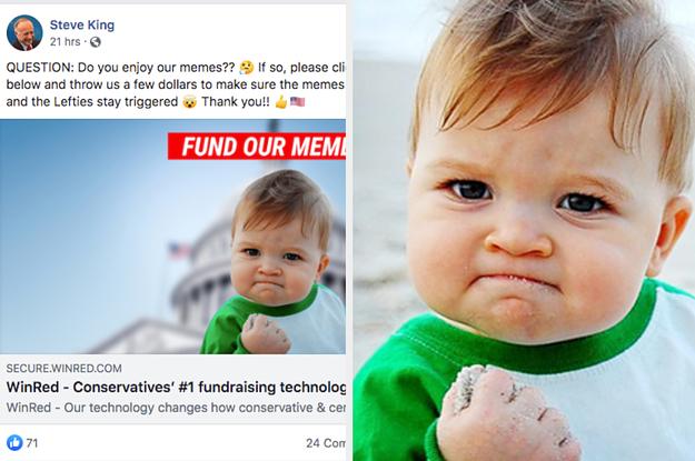 "Mom Of ""Success Kid"" Meme Says Iowa Rep. Steve King Does ..."
