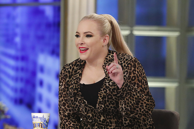 "Meghan McCain On ""The View"" Is The Epitome Of White Women Tears"