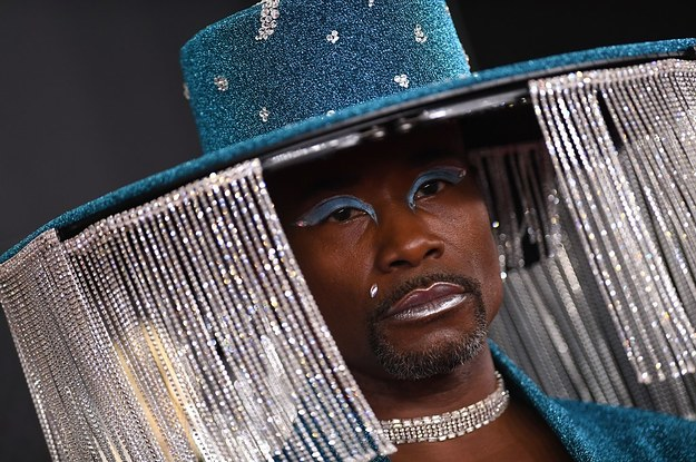 Billy Porter Wore A Remote-Controlled Hat To The Grammys And It Instantly Became A Meme