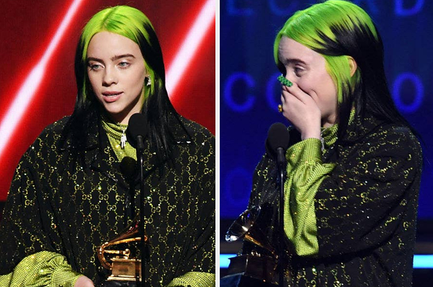 """Billie Eilish Won Song, Album, And Record Of The Year At This Year's Grammy Awards And All I Can Say Is, """"Holy Cow"""""""