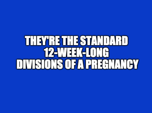 "These Pregnancy Questions Were Actually Asked On ""Jeopardy!"" — Can You Answer 7/9 Correctly?"