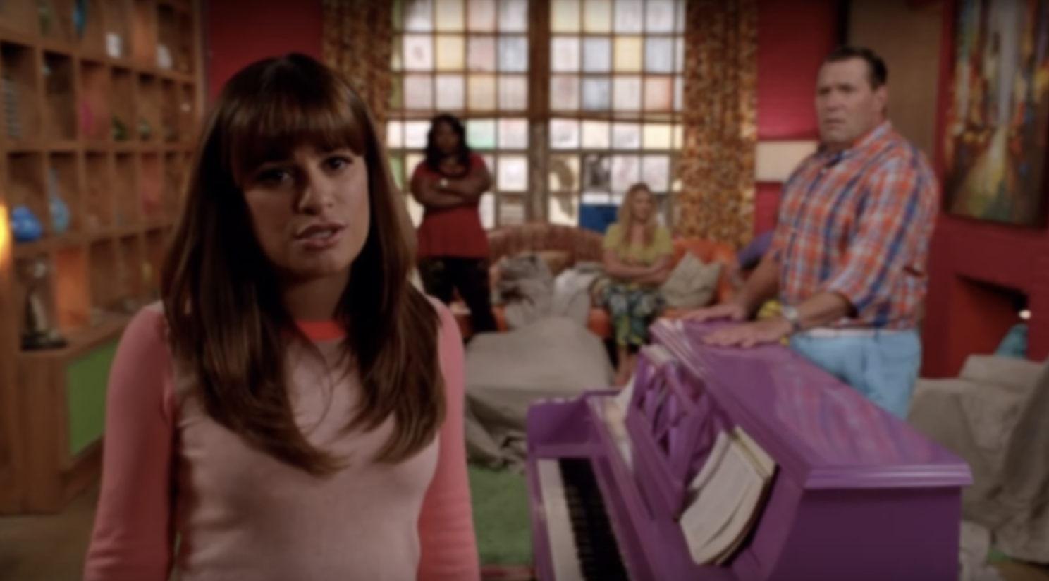 A scene from an episode of Rachel's canceled show