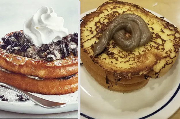 15 Side-By-Sides Of Food As Advertised Vs. In Real Life