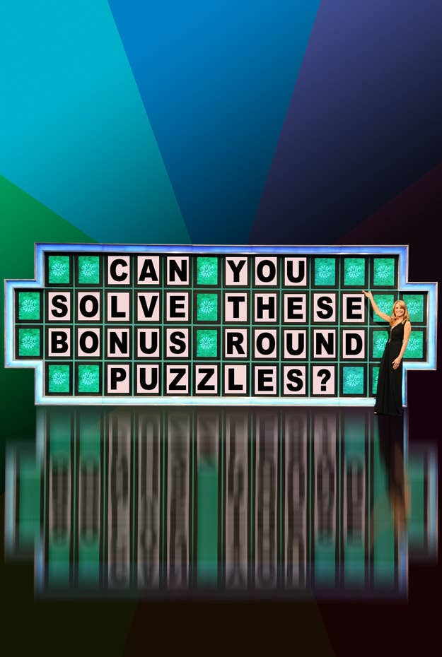 Can you solve these bonus round puzzles?