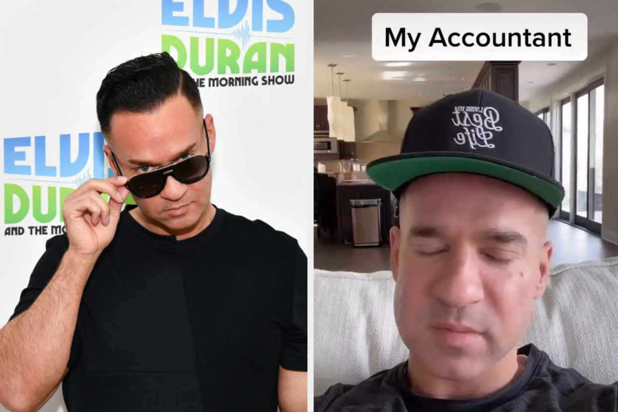"""Mike """"The Situation"""" Sorrentino Made A TikTok Joking About His Past Tax Evasion, And It's Actually Hilarious"""