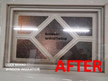 reviewer pic of window looking normal with shrink wrap applied