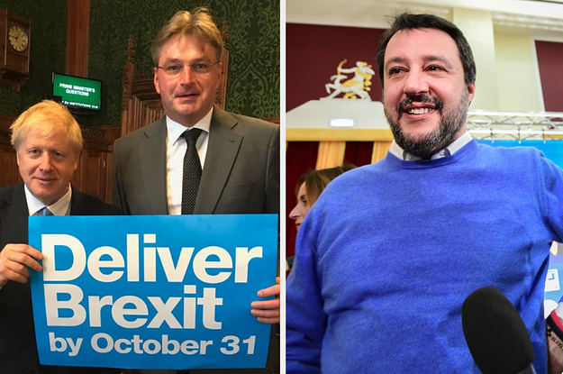A Tory MP Is Set To Speak Alongside Far-Right Politicians At A Conference In Italy