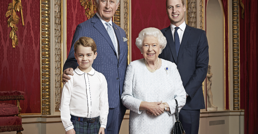 The Royal Family Has Released A Rare New Portrait That Shows The Line Of Succession To The Throne