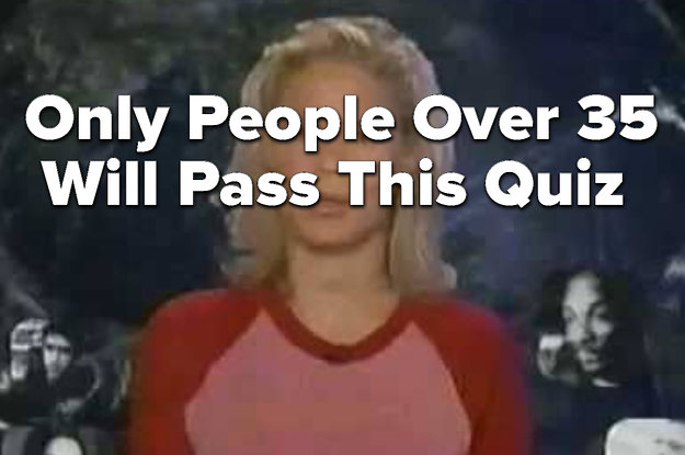 Sorry, But There's No Way You'll Pass This Quiz If You're Under 35
