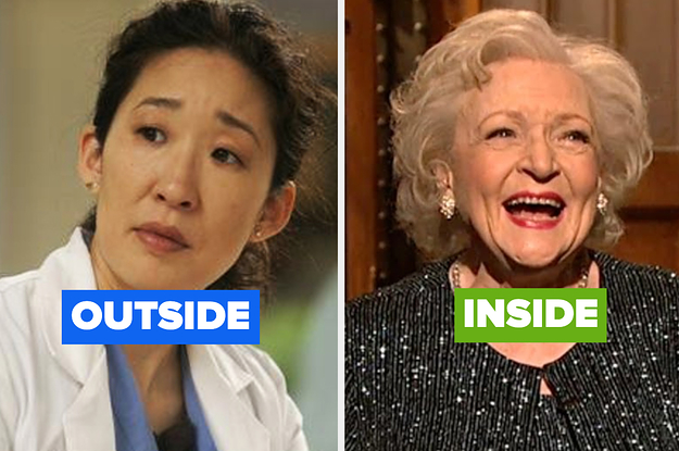Our Inside/Outside Quiz Will Reveal How Old You Are Externally, And How Old You Are Internally