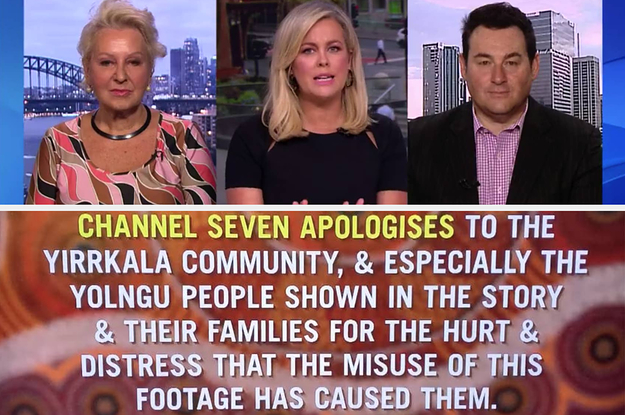 """An Aboriginal Man Who Sued Channel Seven Says They Should """"Apologise Properly"""" Over A Controversial Panel"""