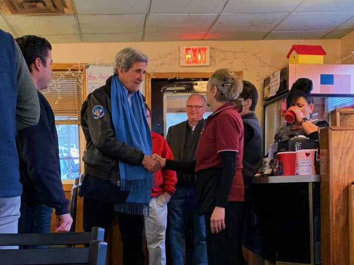 John Kerry, Who Lost To Bush, Makes The Electability Argument For Joe Biden