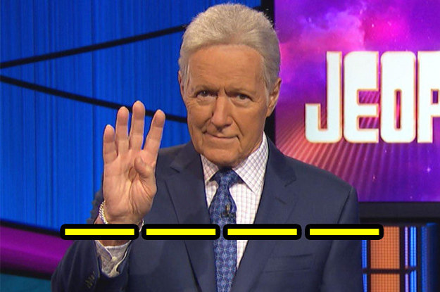 "Only 10 ""Four-Letter Words"" Stand Between You And 100% On This ""Jeopardy!"" Quiz"