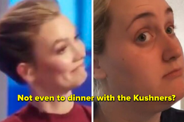 "Here Are 17 Hilarious Reactions To Karlie Kloss Getting Called Out By A ""Project Runway"" Contestant"