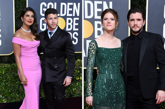 29 Of The Cutest Couples At The 2020 Golden Globes