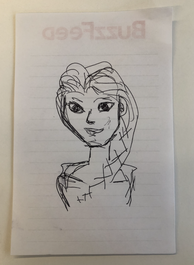 Can You Guess The Disney Characters Based On My Bad Drawings Of Them?