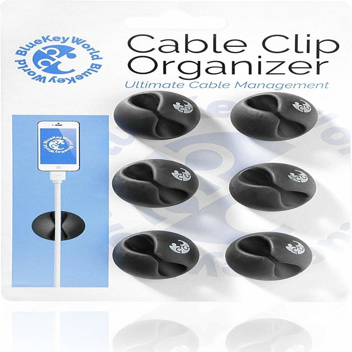 The pack of cable clips