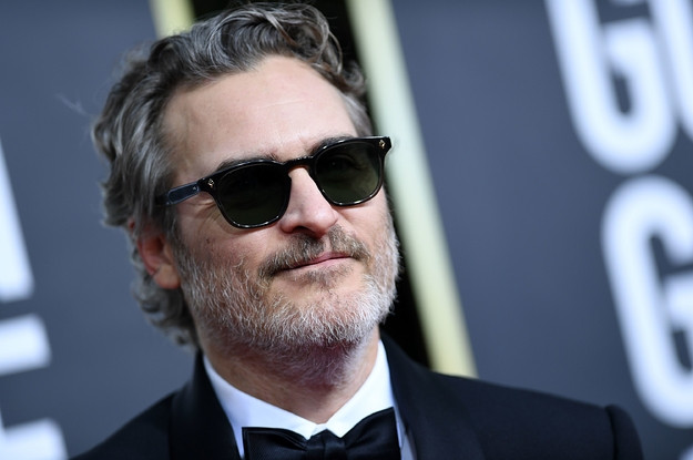 Joaquin Phoenix's Veganism Was On Full Display At The Golden Globes And I Loved Every Minute Of It