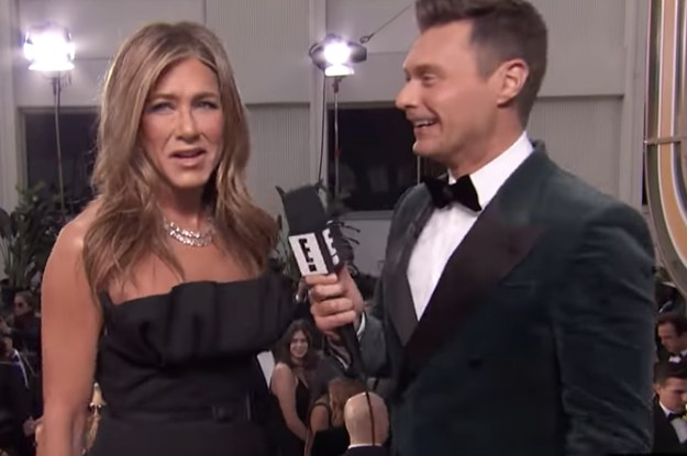 """Jennifer Aniston Called Out Ryan Seacrest For Buying """"Her Home"""" And It Was Hilariously Awkward"""