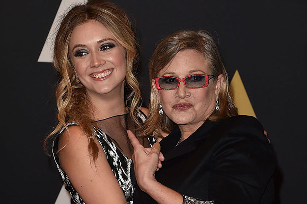 """Carrie Fisher's Daughter Billie Lourd Played Princess Leia In The Flashback Scene In """"The Rise Of Skywalker"""""""