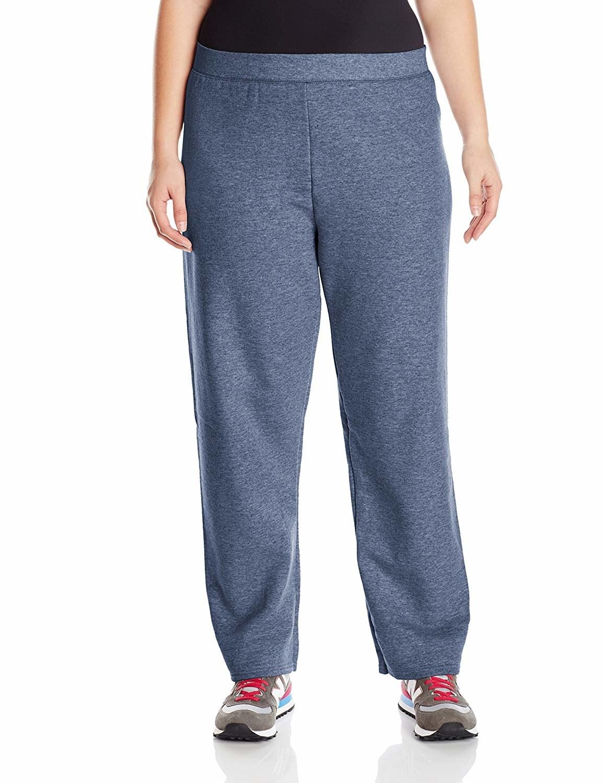 Model wearing fleece sweatpants