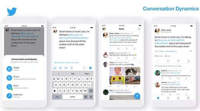 Twitter Conversation Participants Could Change How Users Interact on the Platform