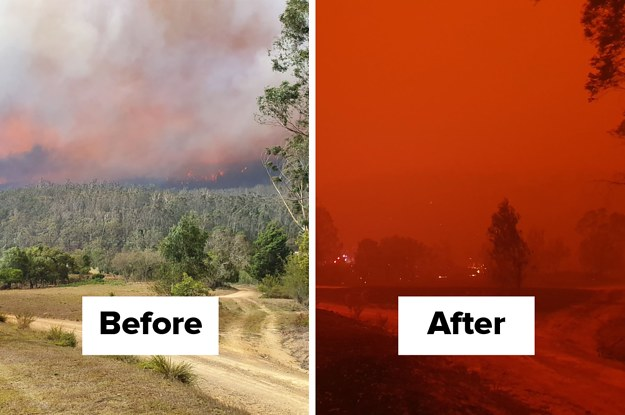 This Is What It's Like On The Frontlines Of Australia's Devastating Bushfires