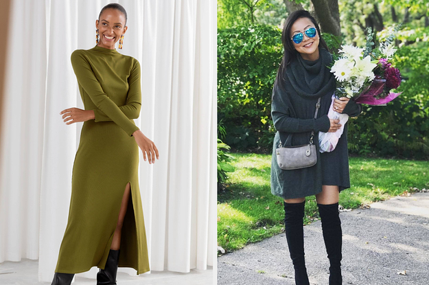 35 Winter Dresses Made To Keep You Warm ...