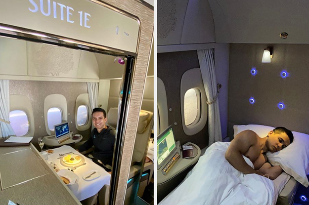 "This Is What It's Like Inside First Class, Business Class, And Economy Of ""The World's Best Airline"""