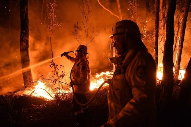 山 火事 オーストラリア