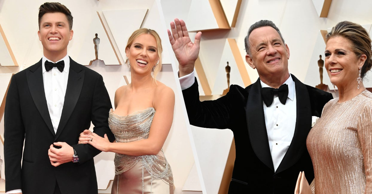Here Are All Of The Cutest Couples To Walk The Red Carpet At The 2020 Oscars