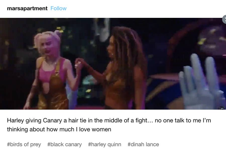 Birds Of Prey Everyone S Calling The Hair Tie Scene The Best Moment From The Film And Here S Why