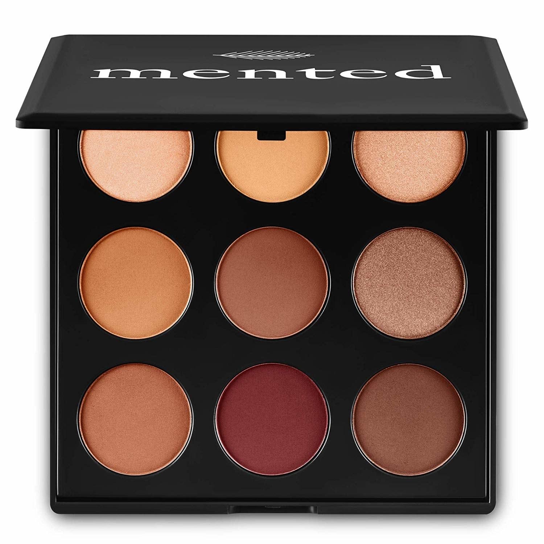 The nine-shade eyeshadow palette