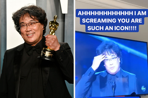 """17 Celeb Reactions To """"Parasite"""" Winning Best Picture At The Oscars"""