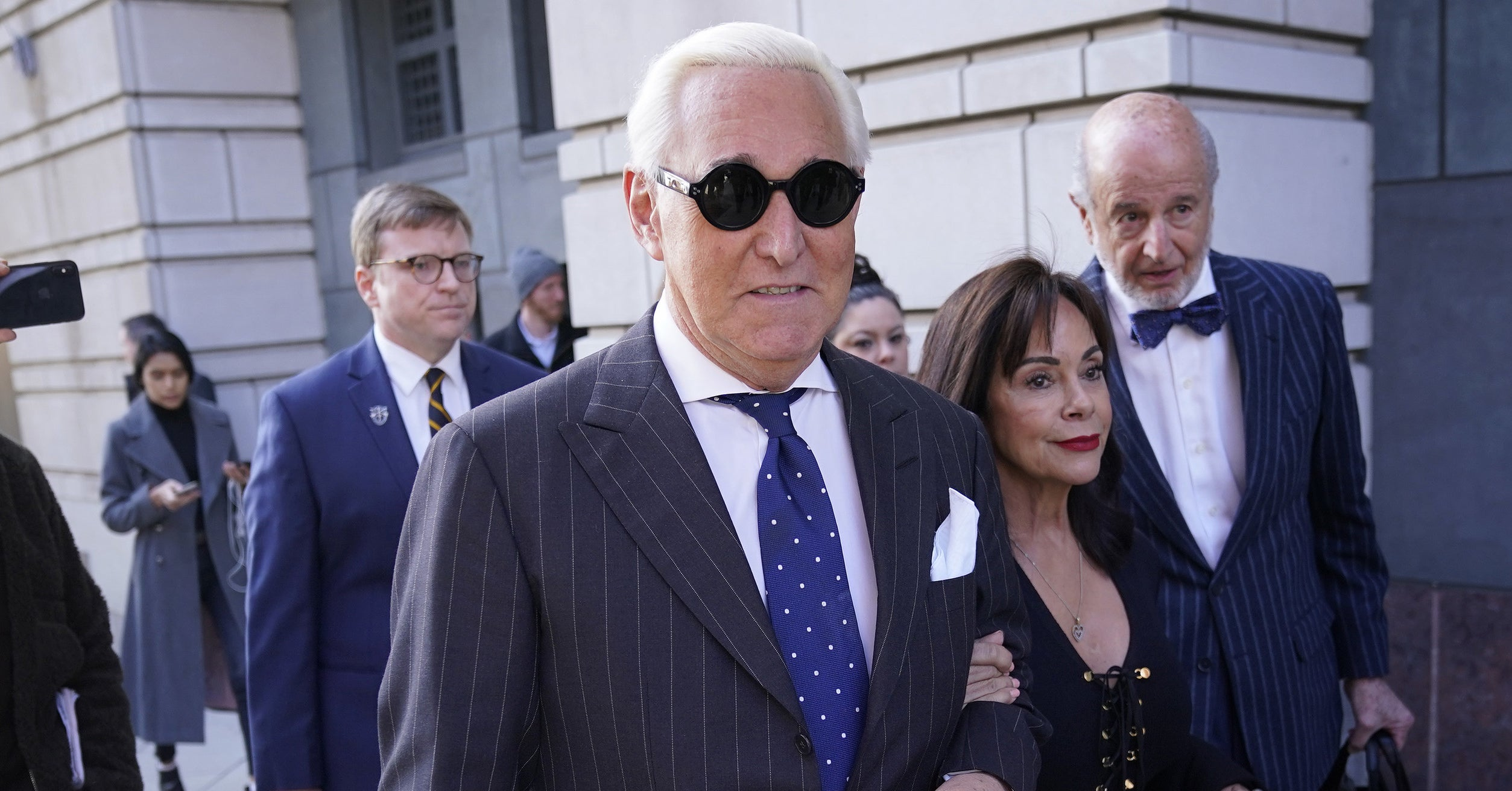 Trump's Close Ally Roger Stone Was Sentenced To Just Over Three Years In Prison