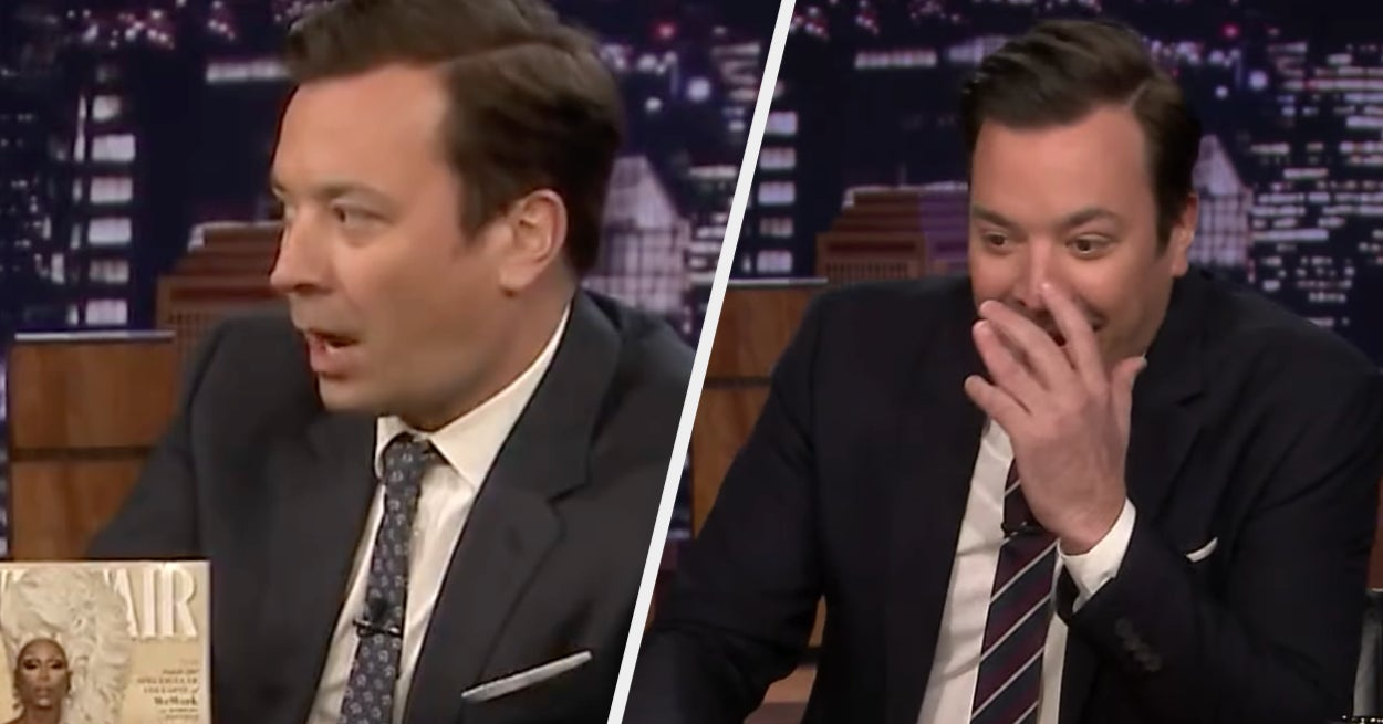 Jimmy Fallon Just Revealed Exactly What He Was Thinking During That Seriously Awkward RuPaul Moment