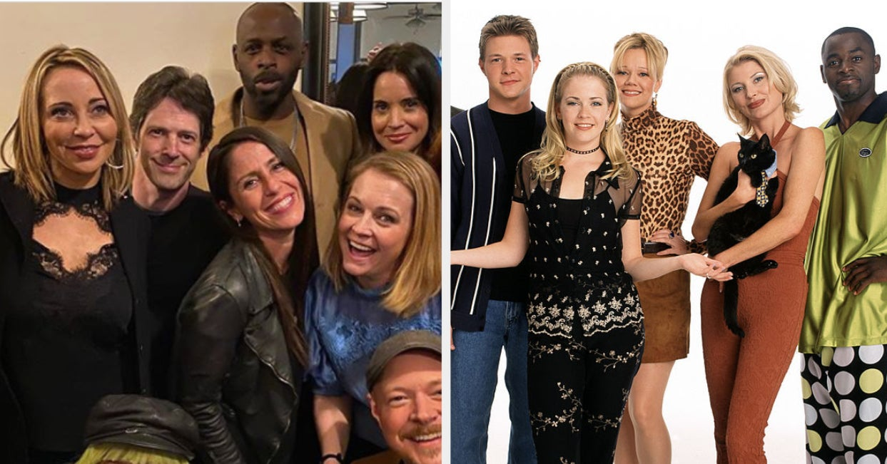 """The """"Sabrina The Teenage Witch"""" Cast Reunited And It's Like It's 1997 All Over Again"""