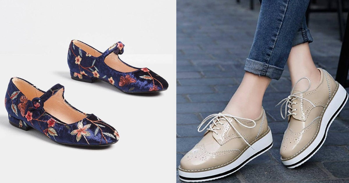 28 Shoes That Prove It's Possible To Be Sensible And Stylish