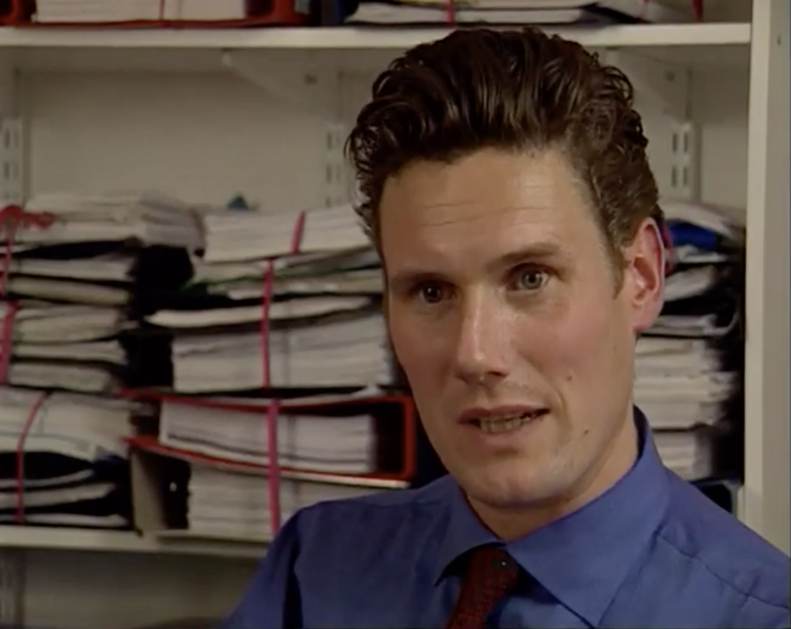 Starmer in the documentary McLibel