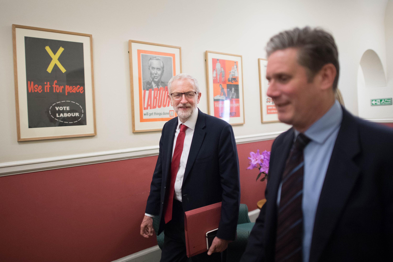 Corbyn and Starmer