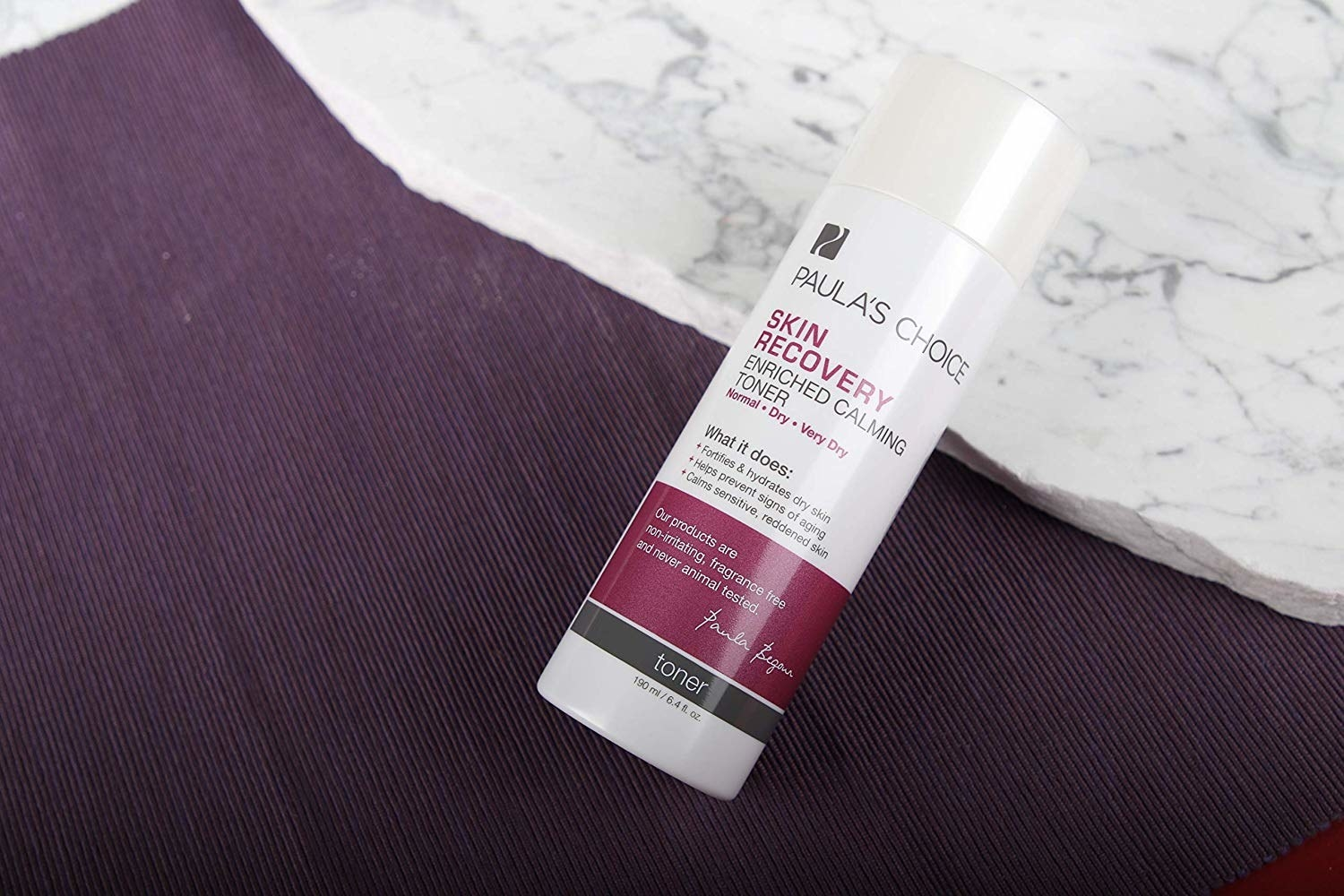 A bottle of the Paula's Choice skin recovery