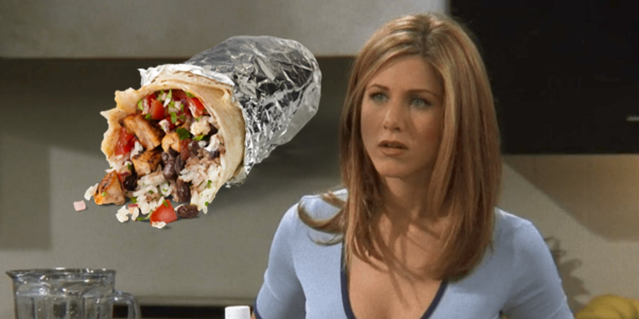 "Which Character From ""Friends"" Are You Based On Your Chipotle Order?"