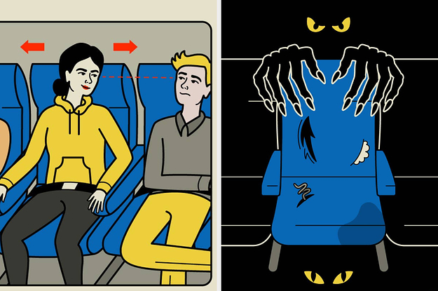 How To Survive The Middle Seat On Your Next Flight