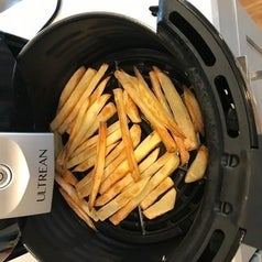 French fries in the air fryer