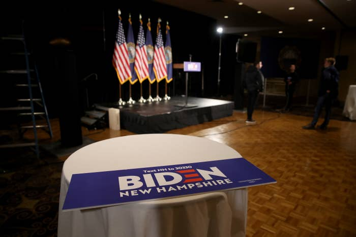 BUZZFEED – Joe Biden's New Hampshire Party Was… Well, Look For Yourself