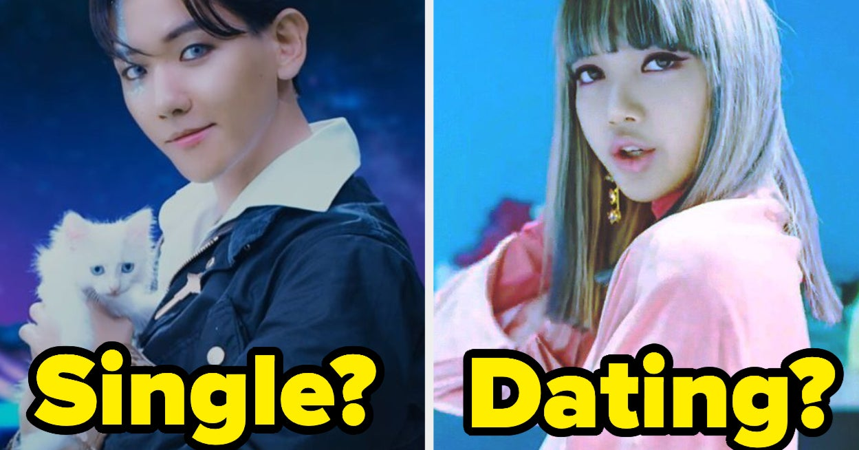 Don't Freak Out When We Guess Your Relationship Status From Your Favorite K-Pop Idols