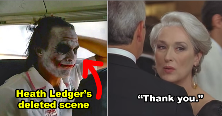 15 Deleted Scenes And Alternate Endings That'll Change How You See Your Favorite Movies