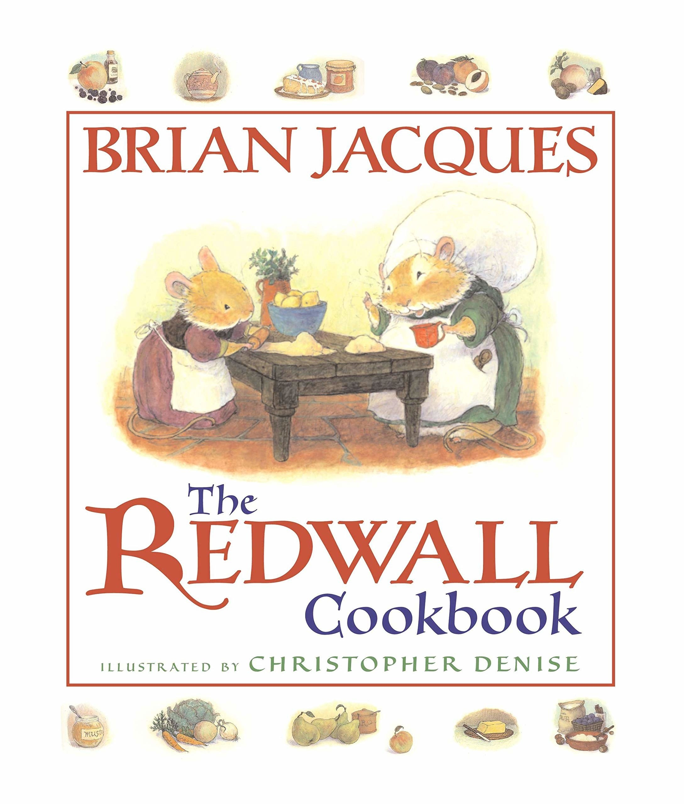 redwall cookbook cover